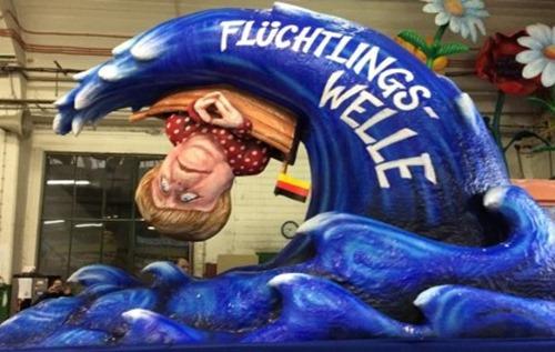 merkels_Fluechtlingswelle_duesseldorf