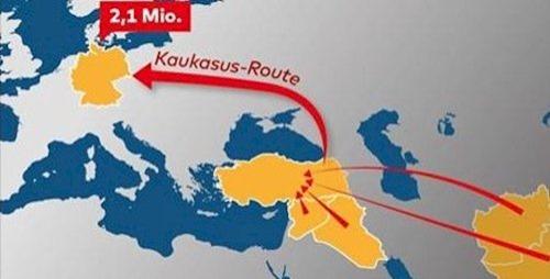 kaukasusroute