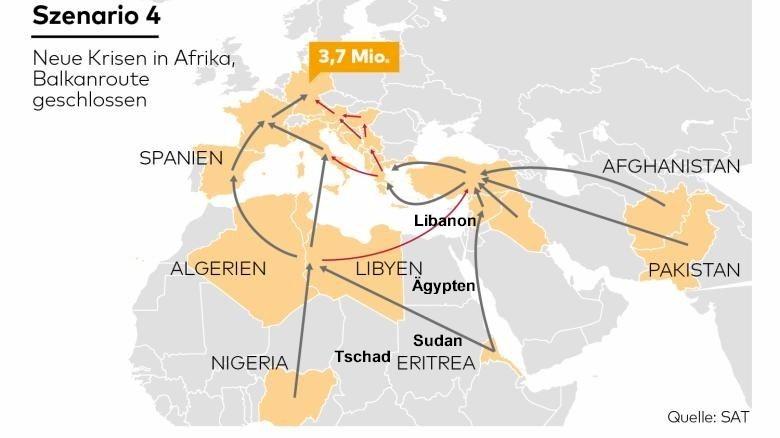 Ganz und zu Extrem Kommen bald Millionen Flüchtlinge über die Kaukasusroute nach @TN_13