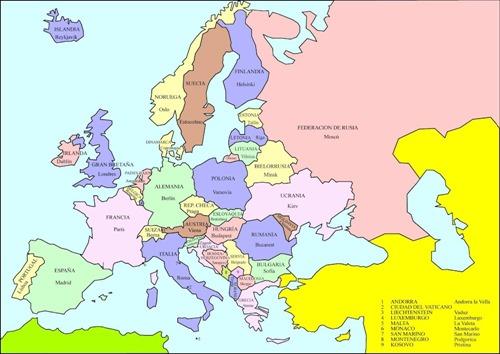 46 Europa política