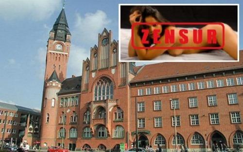 Rathaus Köpenick Kunstzensur wegen Moslems