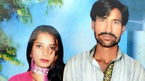 Shahzad Masih und Shama Bibi