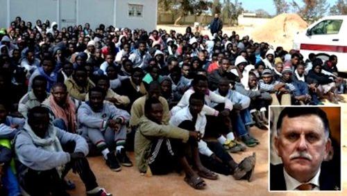 Libyen-Fajes-al-Sarradsch