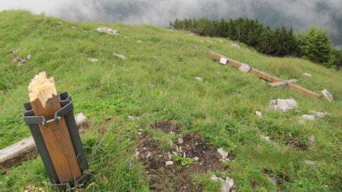 Gipfelkreuz am Prinzkopf
