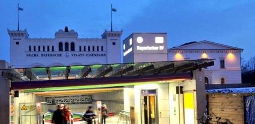 Bayrischer Bahnhof in Leipzig