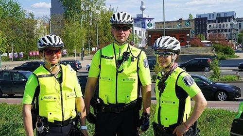 Polizei-Fahrradstaffel_Berlin