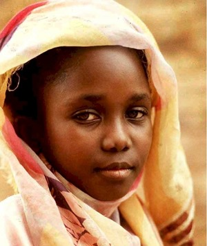 Sudan_-_young_girl_in_Khartoum