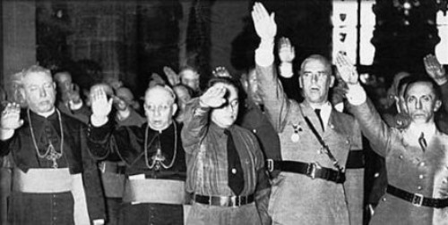 Bischoefe-Hitlergruß