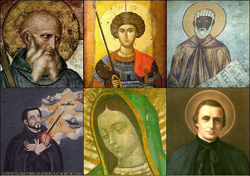 Collage_Patron_saints_by_regions