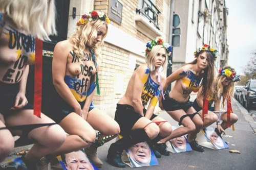 femen-urination