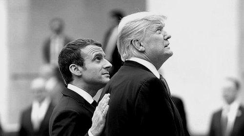 Donald_Trump_Emmanuel_Macron