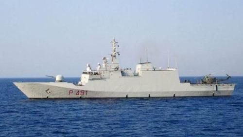 Italienisches Marine-Schiff Comandante Borsini
