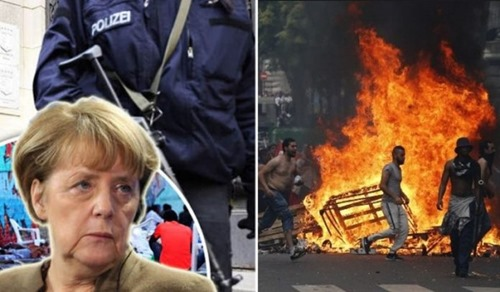 merkel_polizei_collage