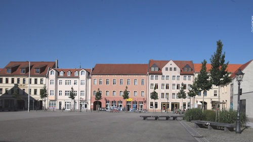 Arsenalplatz in Wittenberg