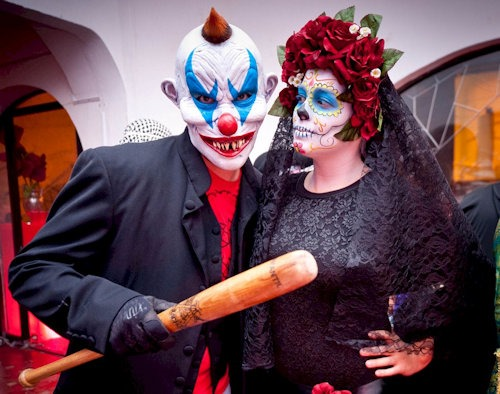 _Beater_Clown_&_La_Catrina_