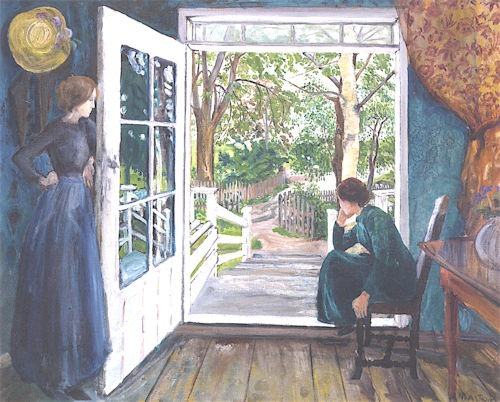 By_the_Open_Door,_Nicolai_Astrup_-_1902-1911
