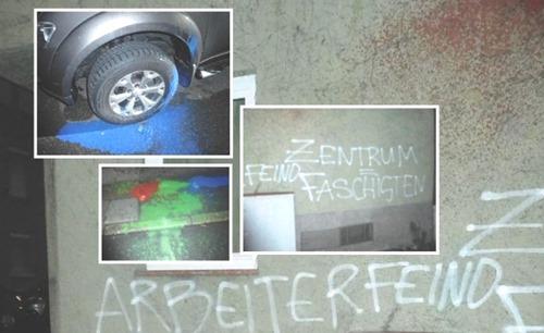 Zentrum-Automobil-Angriff