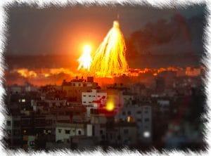 Weisser-Phosphor-auf-Gaza-von-Israel-2009-Kriegsverbrechen-300x222