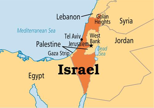 israelkarte