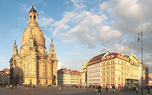Frauenkirche Dresden Panorama