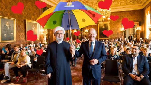 Scholz-Mullah Hojatoleslam Mohammad Hadi Mofateh