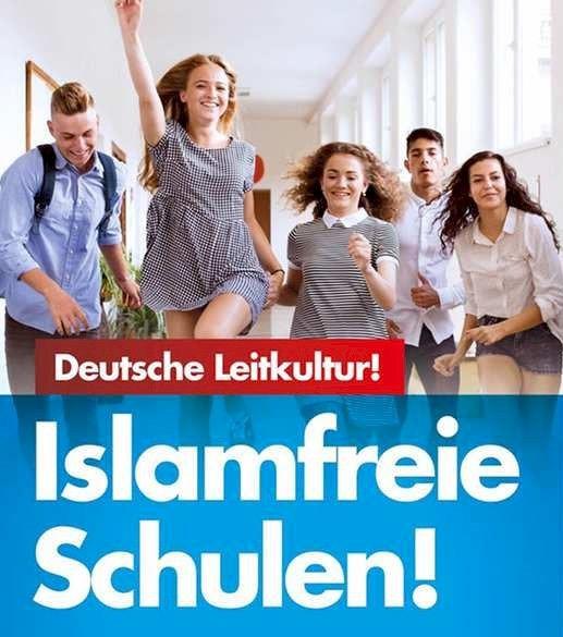 Haken mit Moslem