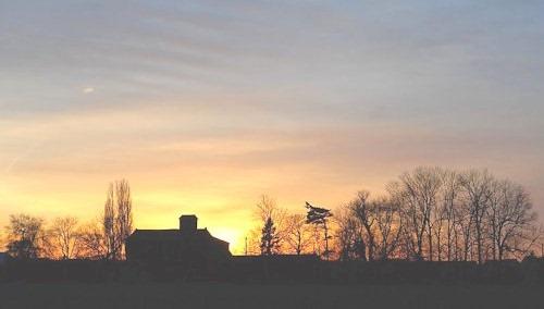 EschmarerMuehle_Sonnenuntergang