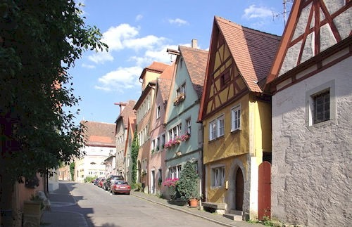 Rothenburg_Klostergasse