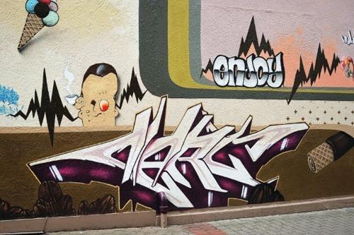 Menden-Graffiti
