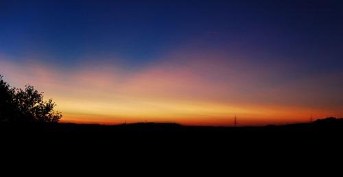 Sunset_lüdenscheid_germany