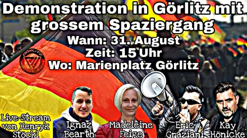 Demo in Görltz