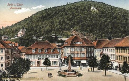 Suhl_Marktplatz